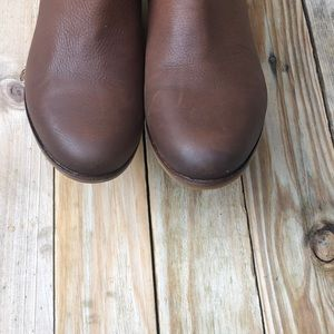 Lucky Brand Shoes - Lucky Brand   Brown Ginnie Ankle Booties Size 8.5